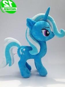 Единорог Trixie, чучела животных, лошадь, плюшевая кукла, детские игрушки, отличный подарок 12