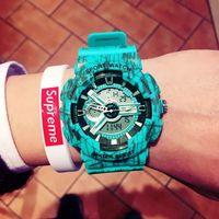 G style shock watch men top brand luxury set LED digital Waterproof Quartz men watch Sport militaryWatch relogio masculino