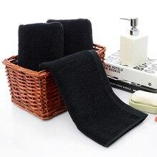 Черное полотенце для лица s хлопок мягкое пляжное полотенце для дома для ванной для душа сухие волосы сильное водопоглощение для женщин мужчин высокое качество