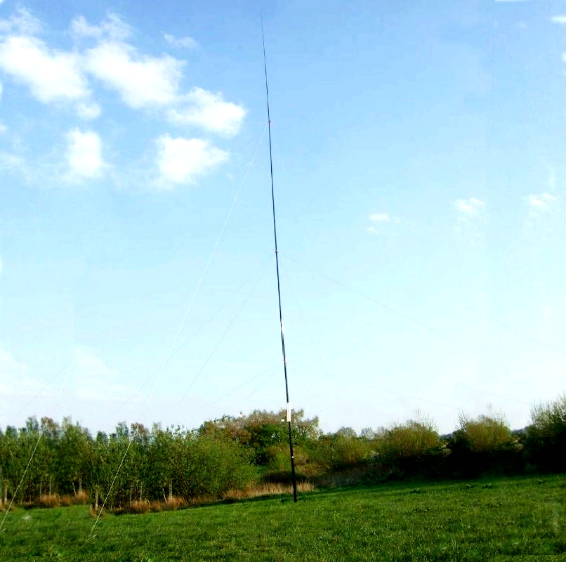 Mástil de la antena telescópica, poste telescópico de fibra de vidrio, poste de mano hecho en fibra