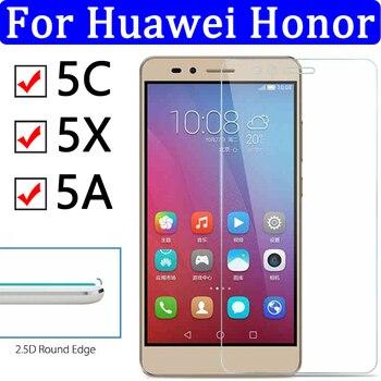 Перейти на Алиэкспресс и купить Защитное стекло на honor 5C стекло для Huawei Honor 5X 5A закаленное стекло 5A X C5 X5 A5 защита экрана Honor5c Honor5x Honor5a