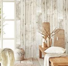 Papel tapiz 3d impermeable, Panel de madera grueso, papel tapiz para paredes, papel de Contacto autoadhesivo, Biblioteca de Hotel, dormitorio y sala de estar