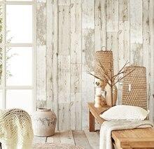 Tapete 3d Wasserdicht Verdicken Holz Panel Tapete für wände selbst adhesive Kontakt papier Hotel Bibliothek Schlafzimmer wohnzimmer