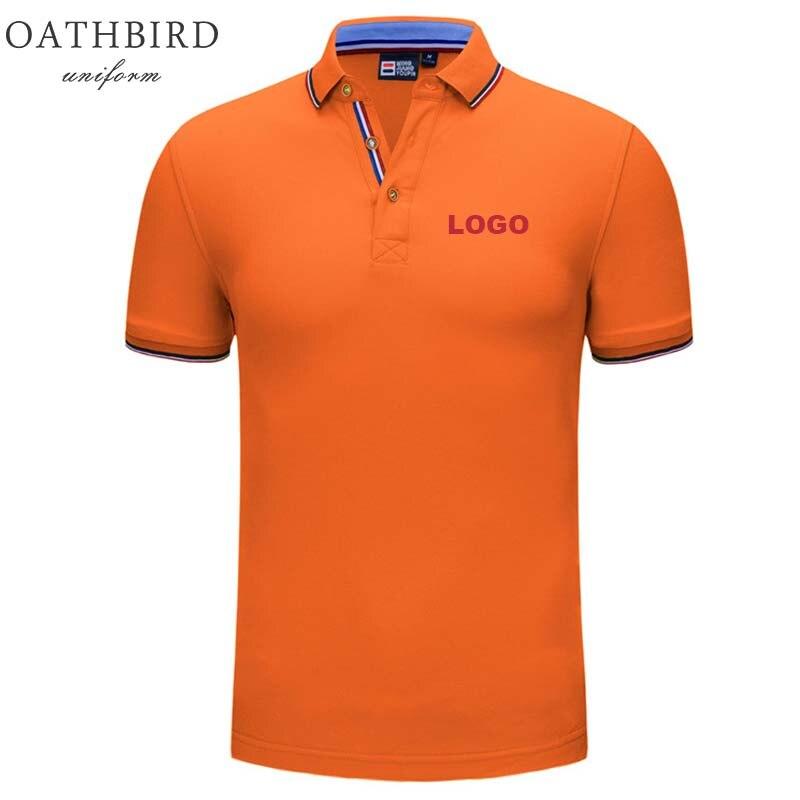 Image 5 - Atacado unisex design personalizado polo camisa com bordado seu próprio logotipo da empresaPolo