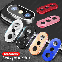 Защитное металлическое кольцо для объектива камеры для Xiao mi Red mi Note 8 7 K20 Pro mi 9T 9 8 SE A2 mi x 3 задняя крышка для объектива камеры защитный чехол