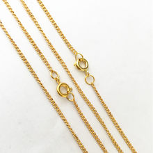 1mmx2mm Gold Color Link Necklace With Round Buckle Pendant Chain Accessories Pocket Watch Chain Connector 8Pcs/Lot(China)