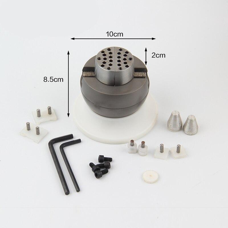 Mini boule de réglage, bloc de graviers bloc de gravure étau à billes-Mini, Machine à bijoux, outils et équipement
