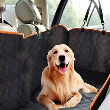 Anti Dirty Pet Carriers Oxford Fabric Car Pet Seat Cover Dog Car Back Seat Carrier Waterproof Pet Mat Hammock Cushion Protector(China)
