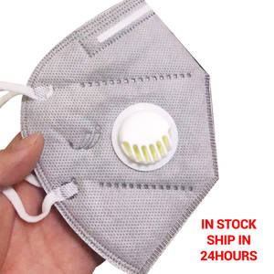 20 Pcs Anti-Virus N95 MaskS 6 layers Dust-Proof Smoke-Proof N95 Face Mask with valve Activated Carbon Mask for Women Men