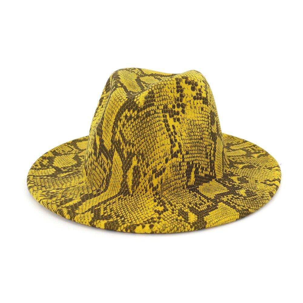 Women/'s Wool Fedora Bucket Dome Cloche Flower Church Hat