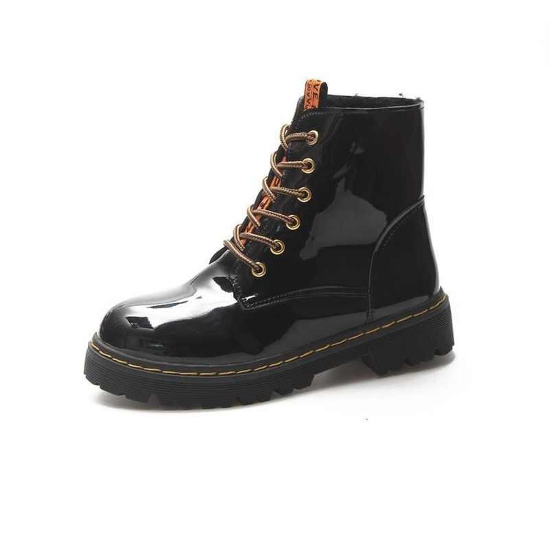 LZJ kadın düz renk kare topuk fermuar süet çizmeler yuvarlak kafa kar botları yuvarlak kafa ayakkabı yeni liste 2019