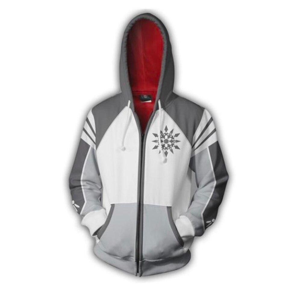 Anime RWBY Ruby Rose Hoodies Sweatshirt Coat Cosplay Costume Adult Hooded Jacket