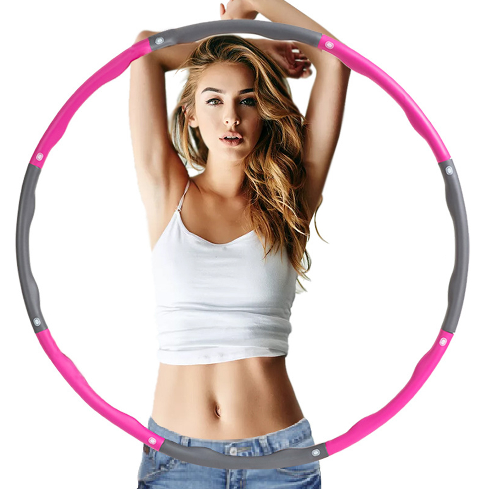 Sfit Fitness Sport Hoop Removable Foam Hoop Adult Children Gymnastic Hoop Body Building Thin Waist Fitness Equipment
