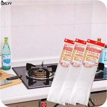 BXLYY термостойкие прозрачные кухонные маслостойкие наклейки для плиты, самоклеящиеся кухонные аксессуары для дома. 75