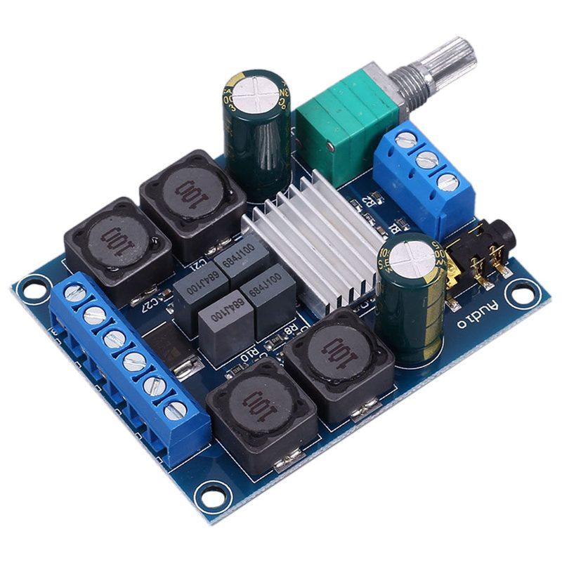 2x50W TPA3116D2 Dual Channel Stereo Digital Amplifier Board DC 4.5-27V Class D