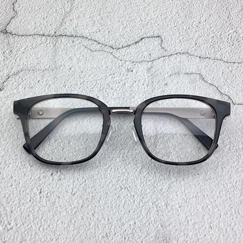 Women Glasses Frame Men Black Tortoise Vintage Square Clear Lens Glasses Optical Eyeglasses Frame