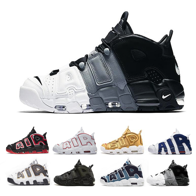 zapatos Uptempo Mens Basketball Shoes  Olympic Varsity Pippen Sports  Maroon 3M Scottie  For Women 96 QS Sneakers Size 36-46