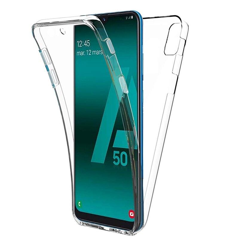 Olhveitra 360 Fundas para Samsung Galaxy A41 A10 A91 M80S S10 Nota 10 Lite más A81 M60S A71 A51 A20E caso suave TPU de silicona