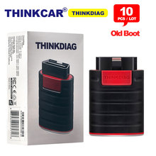 10 Stks/partij Thinkcar Thinkdiag Oude Boot V1.23.004 Obd Code Reader Easydiag 3.0 Bluetooth Android/Ios Scanner OBD2 Diagnostic Tool
