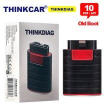 10pcs/lot Thinkcar Thinkdiag Old Boot V1.23.004 OBD Code Reader Easydiag 3.0 Bluetooth Android/IOS Scanner OBD2 Diagnostic Tool