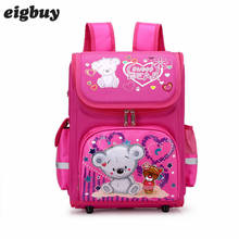 Kids Cartoon School Bag Backpack Eva Folded Orthopedic Children School Bags For Girls Butterfly School Backpacks Mochila children school bags for girls monster high butterfly eva folded orthopedic backpack primary bookbags school backpacks mochila