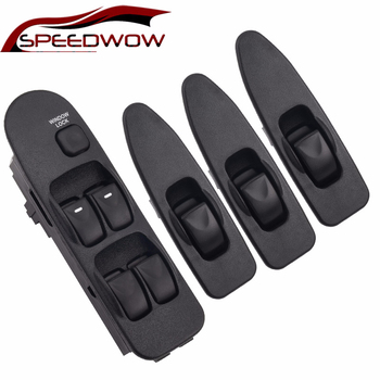 SPEEDWOW Window Panel Master Switch Front Left Right Power Window Control Switch For Mitsubishi Carisma 1995-2006 MR 740 599