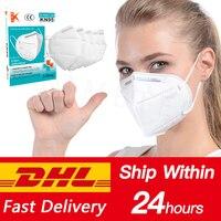 Nuevo Respirador N95 máscara ffp3 transpirable máscara de la cara protección Anti niebla Anti infección PM2