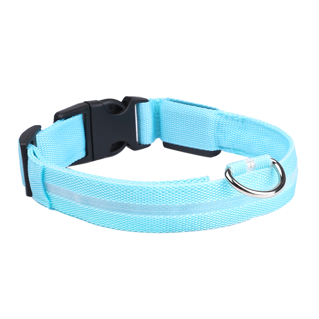 LED Glowing Pet Collar - USB Rechargeable 5 COLORS Puppy Glow  5