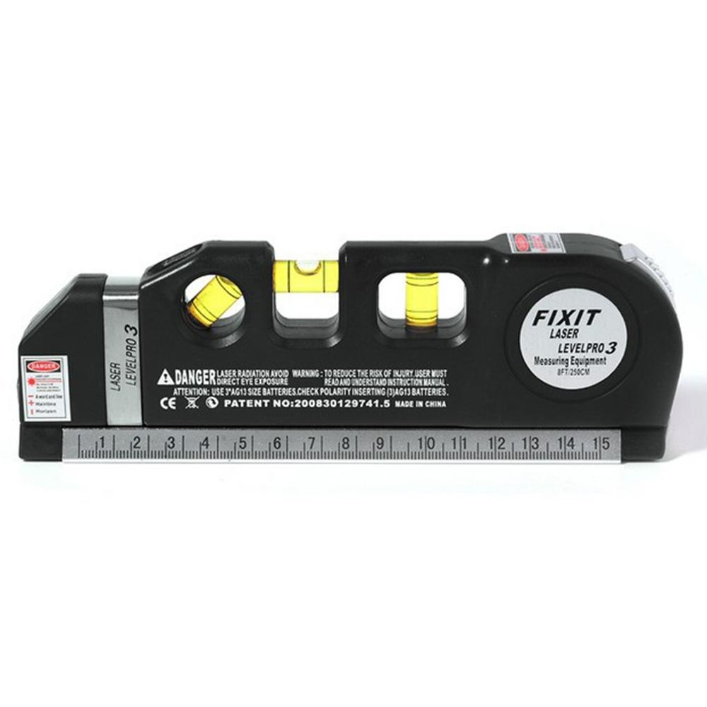 Multipurpose Laser Level Laser Measure Line Measurement Tape Ruler Adjusted Standard And Metric Rulers