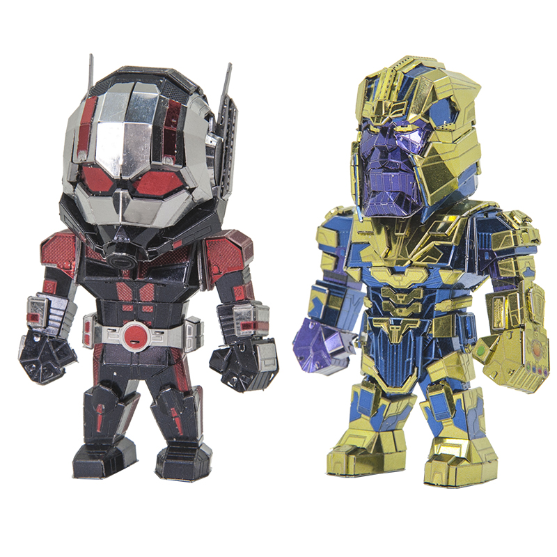 New Arrival 3D DIY Metal Puzzle Model THANOS ANT-MAN Cutting Jigsaw Best Gifts For Lover Friends Children Collection Educational
