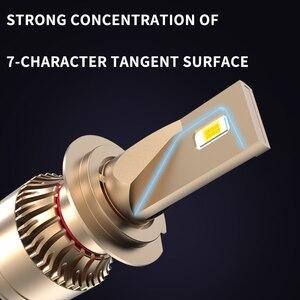 Image 3 - ASLENT רכב פנס אין שגיאת h7 led canbus H4 LED H1 H8 H11 HB3 HB4 9005 9006 9012 60W 20000lm 6500K אוטומטי מנורת ערפל אור נורות