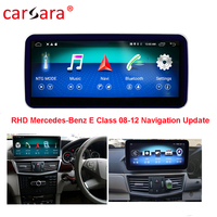 Right Hand Drive W212 W211Navigation In Car DVD Player Display for Mercedes Benz E Class 08 12