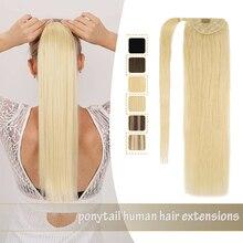 Extensions queue de cheval Balayage cheveux 100% naturels Remy – ZURIA, 12