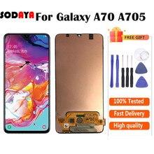 Pantalla TFT para Samsung Galaxy A70 LCD A705 A705F SM-A705MN pantalla LCD de montaje de digitalizador con pantalla táctil envío gratis