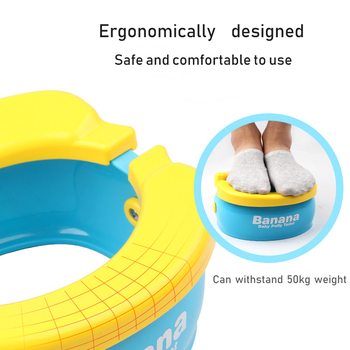 Portable Baby Toilet Foldaway Potty Children Vehicular Urinal With 20Pcs Urine Bags Kids Travel Toilet Seat Kids Outside Potty 4