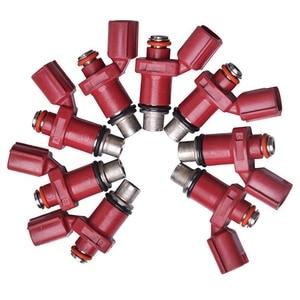 8 Uds nuevo inyector de combustible apto para Yamaha 80 BEL F75 F80 F90 6D8-13761-00-00