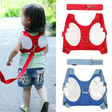1PC Angel Wings Baby Safety Harness Belt For Toddler Kid Adjustable Useful Outdoor Child Reins Aid Walking Strap Anti Lost Line