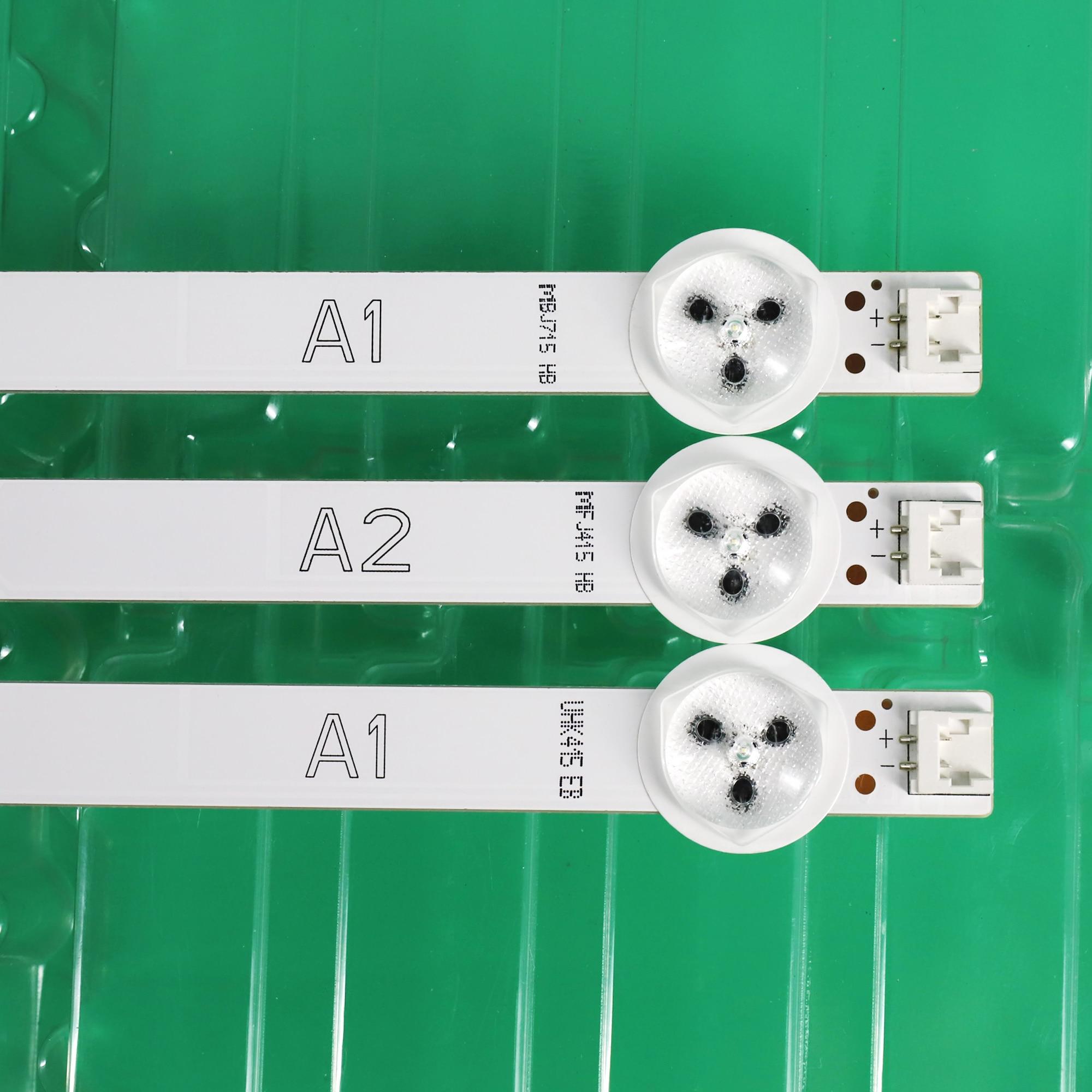 1set = 3PCS für LG 32 zoll LCD hintergrundbeleuchtung 6916L-1204A A16916L-1426A B16916L-1205A A2 6916L-1105A A1 (2PCS = 7LED + 1PCS 8LED )100% neue