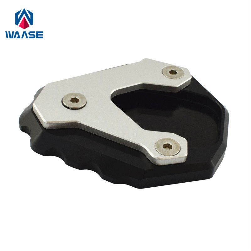 waase For Honda CB500X CB 500X 2019 2020 Kickstand Foot Side Stand Extension Pad Support Plate