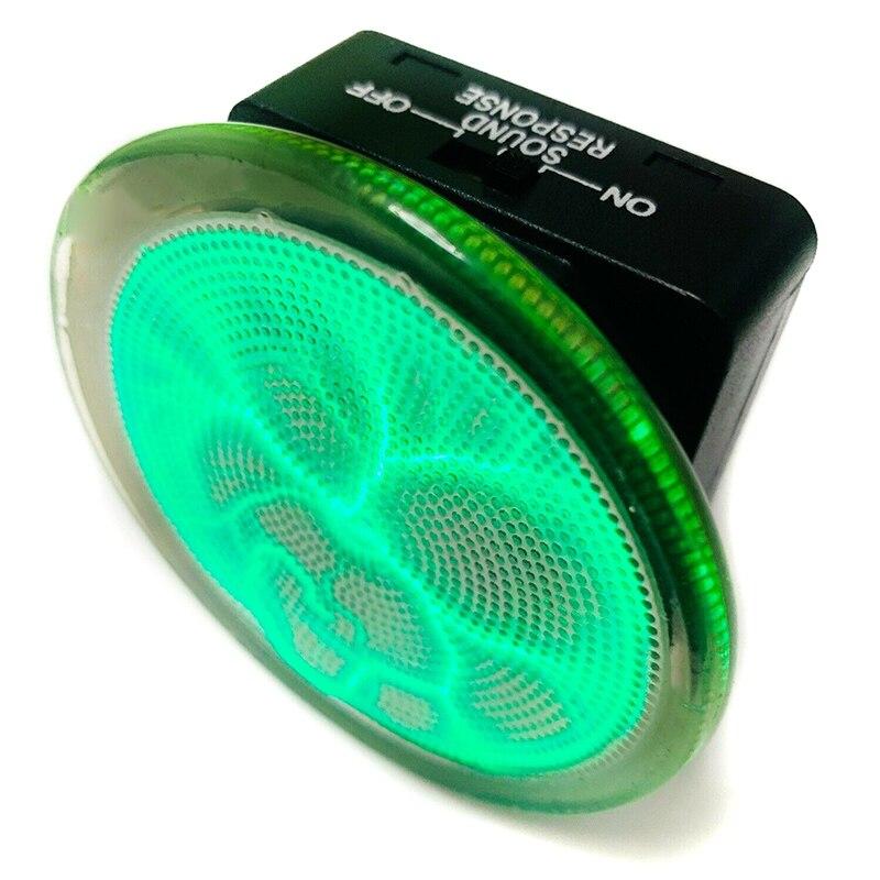 Plasmas Disk Sound Control LED Lighting Mini Plasma Disk Sensor Lighting Plate Party Home Decor  JA55