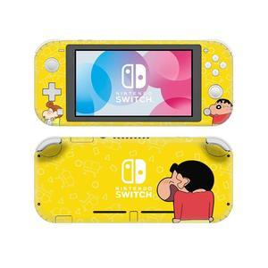 Image 3 - Crayon Shin Chan NintendoSwitchสติกเกอร์รูปลอกผิวสำหรับNintendoสวิทช์Lite Protector Nintend Switch Liteสติกเกอร์ผิว