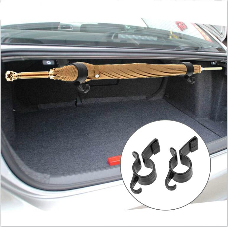 Suporte de guarda-chuva tronco traseiro do carro toalha gancho para fiat 500 tipo punto stilo freemont cruz coroma panda ideia palio egea 500x toro