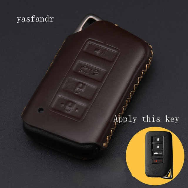 4 Button Key Fob Cover Case For Lexus ES350 GS350 GS450h IS250 RC350 NX200T NX300h LX570 Car Remote Holder Protector