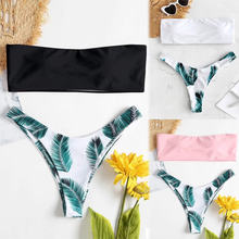 Bikinx бандо с застежкой молнией на спине купальники Для женщин