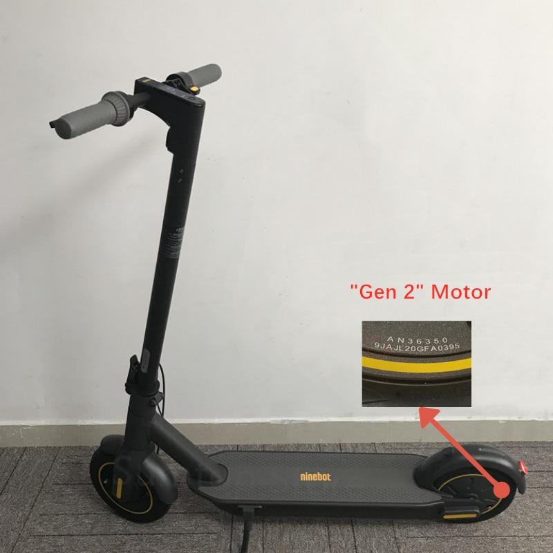 Patinete eléctrico inteligente Original Ninebot MAX G30 Kickscooter de 30 km/h 65km, patinete eléctrico inteligente de 10 pulgadas con Control de aplicación plegable, patinete Hoverboard
