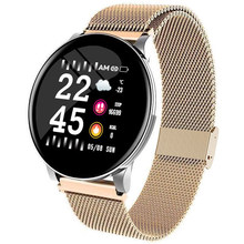 Luxury Smart Watch Men Blood Pressure Waterproof Rose Gold Smartwatch Women Heart Rate Fitness Tracker Watches Sport Android IOS(China)