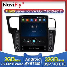 "4G LTE IPS DSP 9.7"" Android 9.0 Car Radio for Volkswagen Golf 7 2014 2015-2018 Car Multimedia Video Players GPS Navigation WIFI(China)"