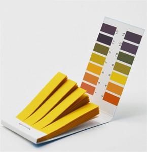 10 пакетов 800 шт лабораторные бытовые тест-полоски PH бумажный индикатор PH1-14 тестовая бумага для измерения слюны воды и мочи