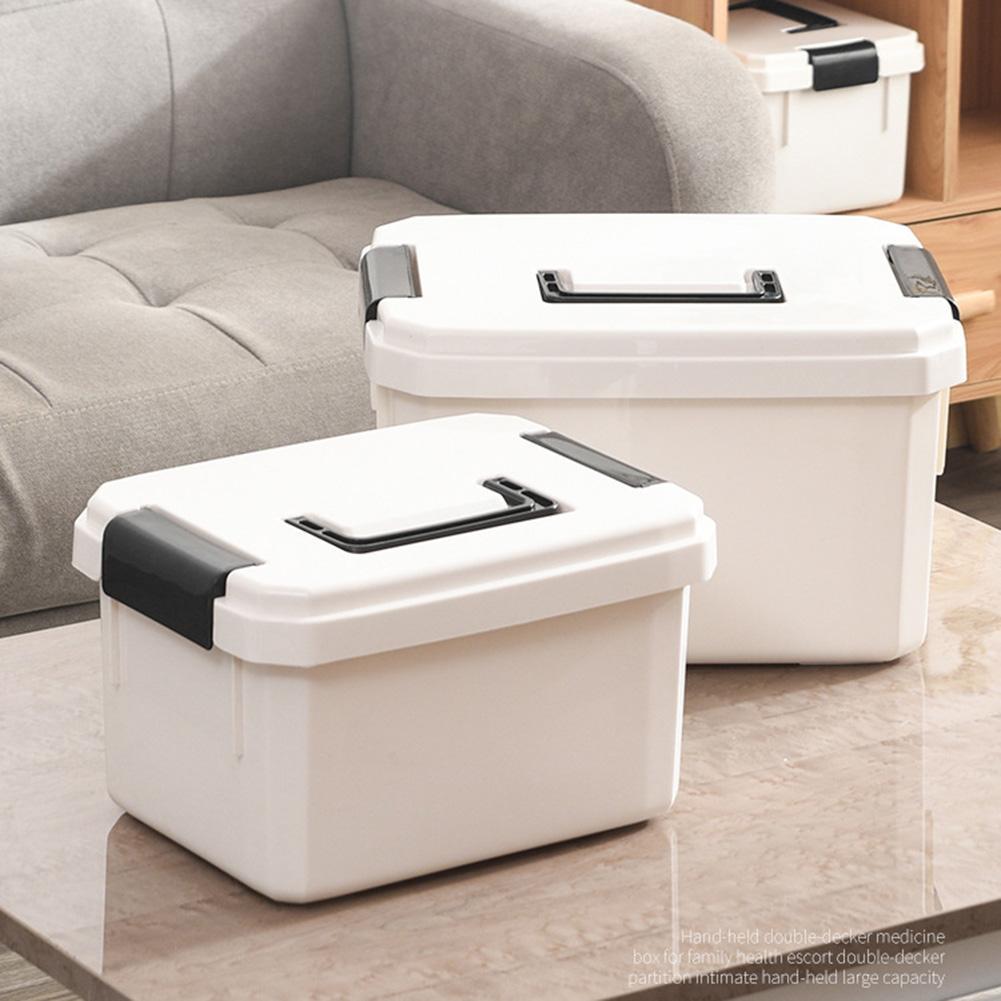 Портативный многофункциональный пластиковый чехол для домашней медицины, медицинский уход, аптечка первой помощи, коробка для хранения|Ящики и баки для хранения|   | АлиЭкспресс