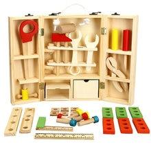Diy портативный деревянный инструмент для игр обучающий развивающий